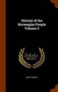 Bilde av History Of The Norwegian People Volume 2