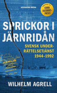 Sprickor i järnridån : Svensk underrättelsetjänst 1944-1992;