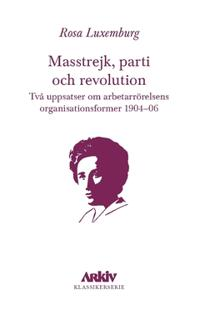 Masstrejk parti och revolution : Två uppsatser om arbetarrörelsens organisationsformer 1904–06