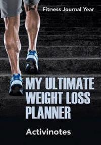 Bilde av My Ultimate Weight Loss Planner - Fitness Journal Year