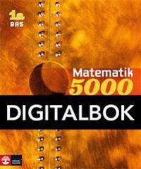 Matematik 5000 Kurs 1a Gul Lärobok Bas Digital