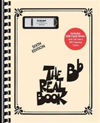 Bilde av The Real Bb Book - Volume 1: Bb Edition Book/usb Flash Drive Pack