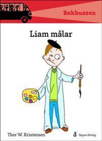 Liam målar