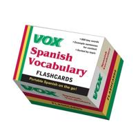 VOX Spanish Vocabulary Flashcards; Vox ; 2011