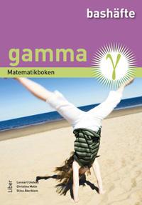 Matematikboken Gamma Bashäfte