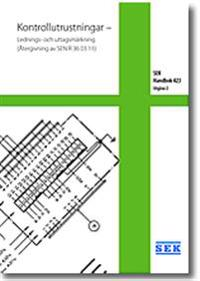 SEK Handbok 423 – Kontrollutrustningar – Lednings- och uttagsmärkning