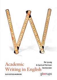 Academic Writing in English – Suggested Answers