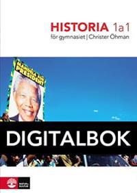Historia 1a1 för gymnasiet Digital