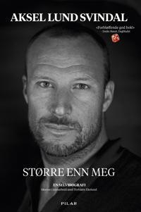 Bilde av bokomslaget til 'Større enn meg; en selvbiografi'