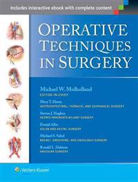 LIPPINCOTT WILLIAMS AND WILKINS Operative Techniques in Surgery (2 Volume Set)