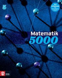Matematik 5000 Kurs 5 Blå Lärobok, andra upplagan; Lena Alfredsson; Kajsa Bråting; Patrik Erixon; Hans Heikne ; 2015