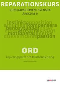 Reparationskurs Ord Kop pärm + Lhl