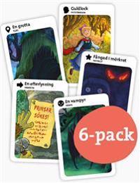 Kortspel: Skruvade Sagor / 6-pack