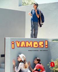 ¡Vamos! 1 Allt-i-ett-bok inkl. ljudfiler och elevw