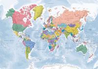 Skrivbordsunderlägg Världen