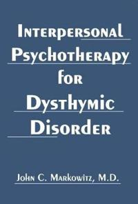 Bilde av Interpersonal Psychotherapy For Dysthymic Disorder