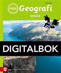 PULS Geografi 4-6 Norden Grundbok Digital tredje upplagan
