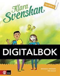 Klara svenskan åk 5 Elevbok Språklära Digital