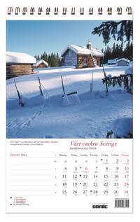 Vårt vackra Sverige almanacka 2021