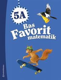 Bas Favorit matematik 5A – Elevpaket (Bok + digital produkt)
