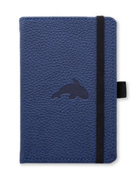 Dingbats* Wildlife A6 Pocket Blue Whale Notebook – Dotted