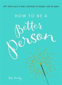 Bilde av How To Be A Better Person