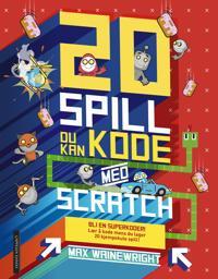 Bilde av 20 Spill Du Kan Kode Med Scratch