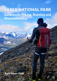 Sarek national park guide book : hiking running and mountaineering