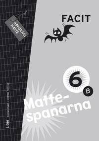 Mattespanarna 6B Facit