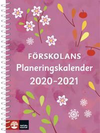 Förskolans planeringskalender 2020-2021