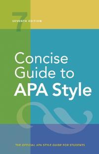 Bilde av Concise Guide To Apa Style
