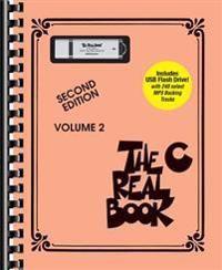 Bilde av The Real Book - Volume 2: C Edition Book/usb Flash Drive Pack