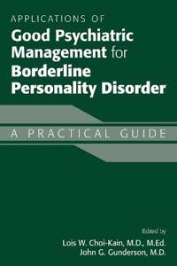 Bilde av Applications Of Good Psychiatric Management For Borderline Personality Disorder