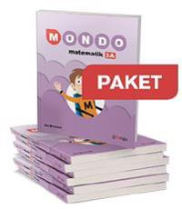 Gleerups Mondo matematik 3a 20 ex + Elevwebb 20 ex + Lärarwebb + Lärarha