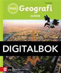 PULS Geografi 4-6 Europa Grundbok Digital tredje upplagan