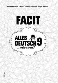 Alles Deutsch 9 Facit – Tyska för högstadiet