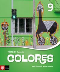 Colores 9 Textbok andra upplagan