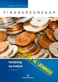 Bilde av Finansregnskap; Oppgaver Med Løsninger