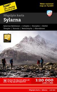 Sylarna 1:20 000