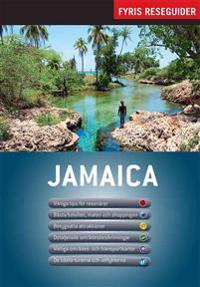 Jamaica med karta