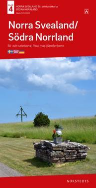 Norra Svealand-Södra Norrland B&T Nr 4 : Skala 1:250.000