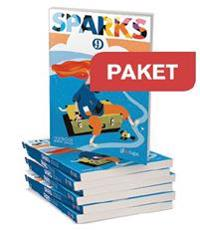 Gleerups Sparks 9 Textbook 25 ex + Workbook 25 ex + Lärarweb
