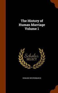 Bilde av The History Of Human Marriage, Volume 1