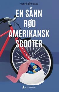 Bilde av bokomslaget til 'En sånn rød amerikansk scooter'