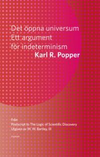 Det öppna universum: Ett argument för indeterminism