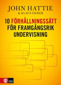 10 förhållningssätt för framgångsrik undervisning