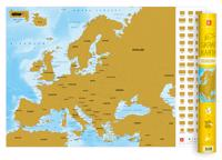 Europa – Skrapkarta