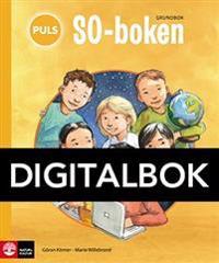 PULS SO-boken 1-3 Grundbok Digital tredje upplagan