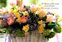 Bilde av Card Box Of 20 Notecards And Envelopes: Pink Tulip