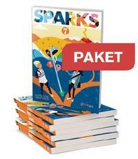 Gleerups Sparks 7 Textbook 25 ex +Workbook 25 ex+ Lärarwebb
